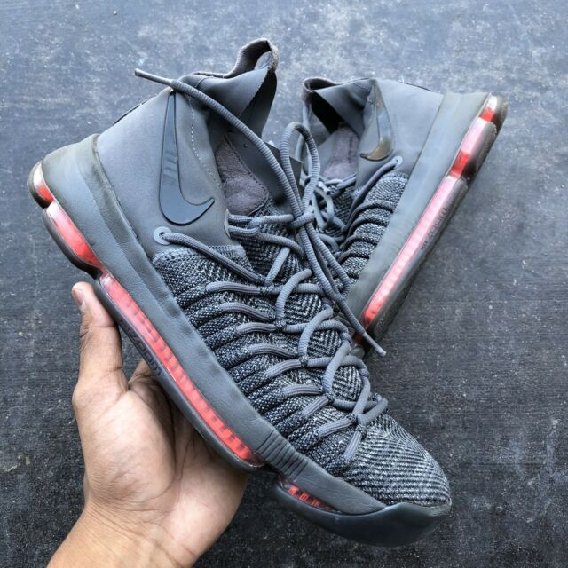 online retailer 7f54a b1b10 Nike Zoom KD9 Elite Time to Shine TS 909139 013 DARK GREY Kevin Durant Size  9