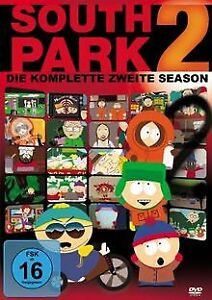 South-Park-Season-2-3-DVDs-von-Trey-Parker-Matt-DVD-Zustand-sehr-gut