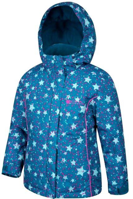 Schneejacke Jacke Skijacke Winterjacke winddicht wasserdicht Sterne 98 104