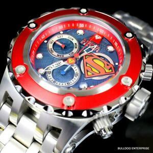 Invicta Reserve DC Comics Superman Subaqua Specialty Steel Swiss 52mm Watch New