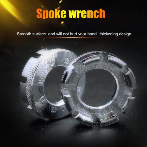 Bike Spoke Key tool Spoke Adjuster Cycle Bicycle Wrench Spanner Wheel Rim Tight