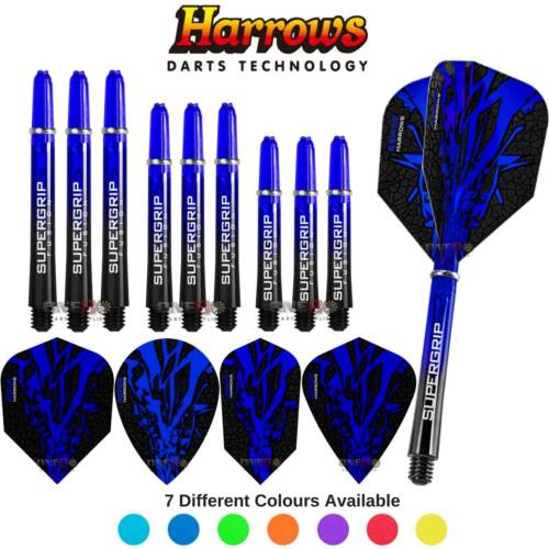 Harrows RapideX Combo Pack Dart Flights Dart Shafts Darts Accessories