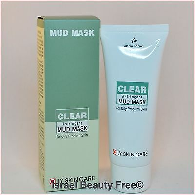 Anna Lotan Clear Astringent Mud Mask for Oily / Problem Skin 60 ml