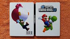 Steelbook Super Mario Bros U Nintendo Wii U / très rare . collector / envoi gra.