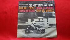 Disco 45 giri - GIANNI MORANDI  - GO KART TWIST -  + TONY DEL MONACO - 1962