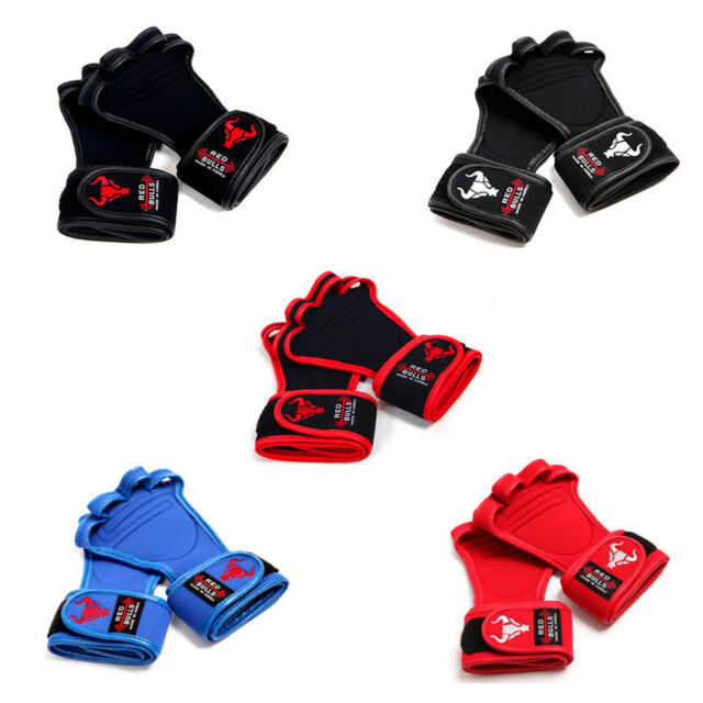 WORKOUT GLOVES Professional Weight Lifting Fitness Training GYM Straps 5 types
