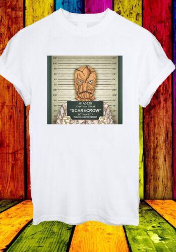 Jonathan Crane SPAVENTAPASSERI GOTHAM CITY BATMAN Formato Ritratto Uomini Donne Unisex T-shirt 827