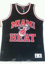 Miami Heat Mitchell & Ness NBA Mesh Basketball Jersey Tank Top Size M (MSRP $55)