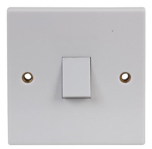 Electric Light Switch DP 20 A Blanc électrique montage également avec lumière néon