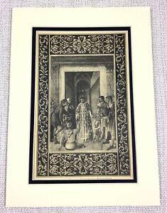 1927-Antico-Stampa-San-St-Lorenzo-Ruiz-Italiano-Art-Vecchio-Master-Pittura