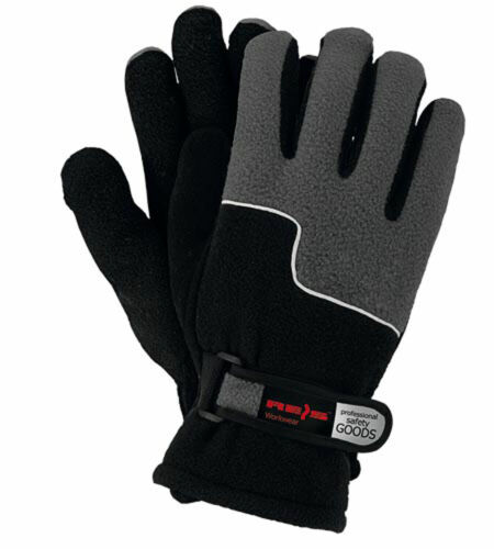 RPOLTRIP-BS Winter Schutzhandschuhe Fleece Arbeitshandschuhe Warm Gefüttert L