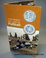 5 Euro Silber 2004 100 Jahre Fußball Hgh