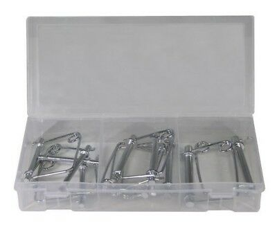 USA SELLER 20 pc PTO Lock Pin Assortment Square /& Round Hitch Pin Set SALE !!!