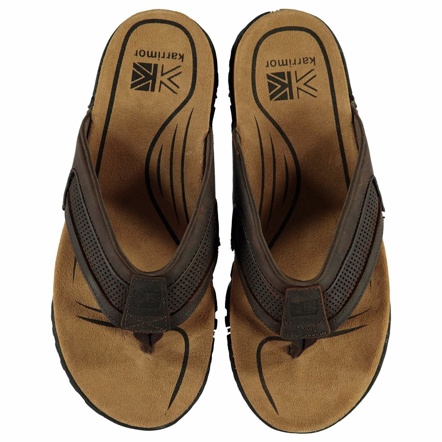 Karrimor Lounge Mens Flip Flops marrón Outdoor Footwear
