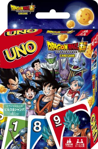 UNO Dragon Ball Super Playing Cards Gameese Anime