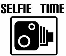 Speed Camera Selfie Funny Novelty Decal Car Van Laptop Vinyl Sticker Wall Art