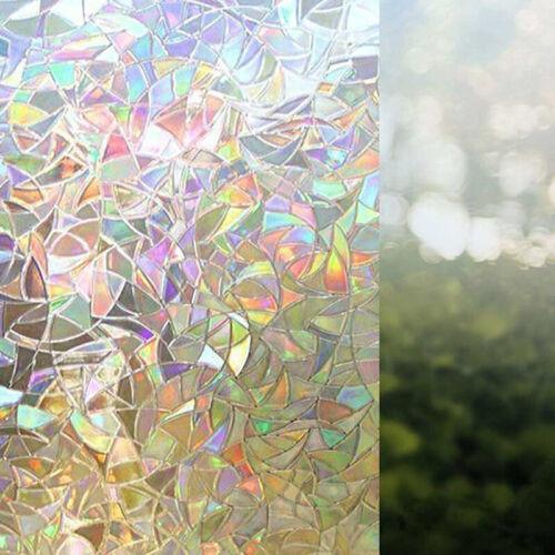 Regenbogen Glasfenster Film 3D Dekorativer Regenbogeneffekt Unter Sonnenschein