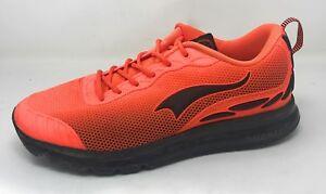 ONEMIX-Men-039-s-Cushion-Road-Running-Shoe-12-Black-Orange-Used