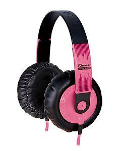 IDANCE SEDJ-800 Headphones, PINK - NEW!