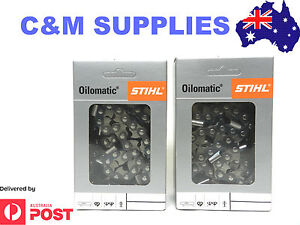 Stihl-Chainsaw-Chain-2X-3-8X063X98DL-Fits-30-039-039-Bar-Husqvarna-STIHL-Echo-Etc
