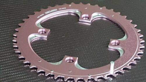 NOS Truvativ Chainring NEUF rose 104 mm BCD 9//10s Shimano MTB Alliage Ring 44 T