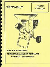Troy bilt super tomahawk 8 hp wood chipper ebay item 5 troy bilt tomahawk super tomahawk chippershredder parts manual 8hp5hp troy bilt tomahawk super tomahawk chippershredder parts manual 8hp5hp fandeluxe Images