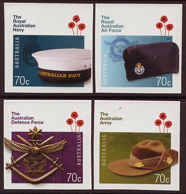 Briefmarken Australien 2014 The Royal Australische Verteidigung Selbstklebend Nicht Gefaßt