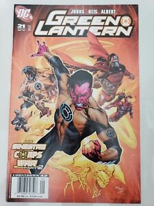 GREEN-LANTERN-21-2007-DC-COMICS-THE-SINESTRO-CORPS-WAR-Part-2-1ST-PRINT