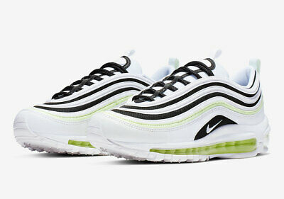 Nike Women's Air Max 97 Summit White Black Barely Volt 921733 105 | eBay