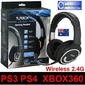 Wireless-Gaming-Headset-Universal-PS4-PS3-XBOX-360-Headphones-amp-Microphone