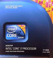 Intel Bx80601960 Slbeu Core I7-960 Processor,8m Cache, 3.20 Ghz, 4.80 Gt/s