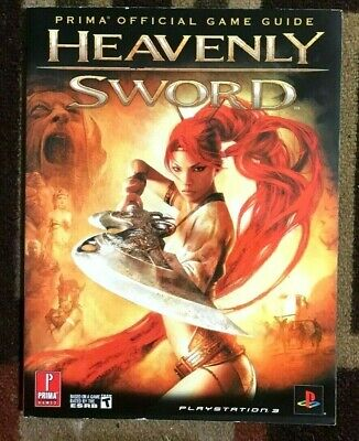 Heavenly Sword Prima Official Strategy Game Guide Ebay