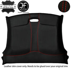 RED STITCHING SPEEDO HOOD LEATHER SKIN COVER FITS MAZDA RX7 FD3S 1992-2002