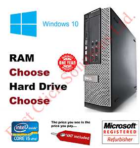 Fast-Cheap-Dell-or-HP-i5-Desktop-SFF-32GB-RAM-HDD-And-SSD-Windows-10-PC-Computer