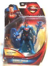 Superman Man of Steel Strike Shield DC Comics Action Figure MOC w/ Staff & Cape