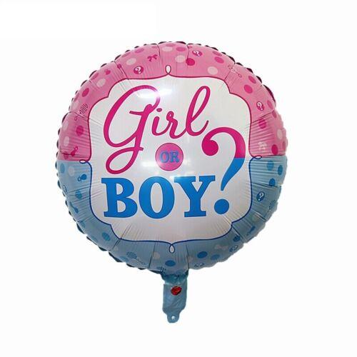Helium diapositives Ballon Baby Shower Naissance Fête Fille Ou Garçon Nouveau surprise