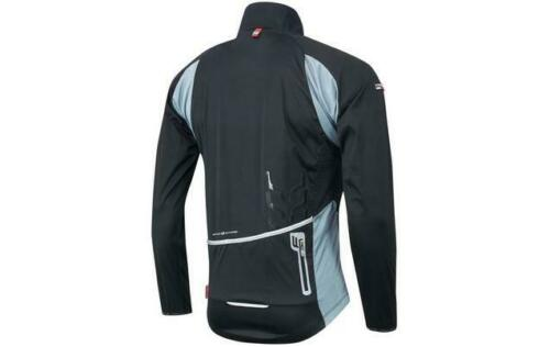 FORCE X80 Softshell Cycling Jacket Black//Grey Size L Best Price Free P/&P UK