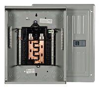 Siemens 12 Space, 24, Circuit, 125 Amp, Main Lug, Indoor Load Center, Copper Bus