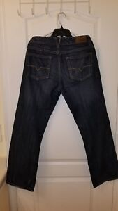 GUESS Factory Men/'s Rowland Relaxed Straight Jeans