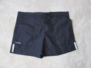 dc7ed09462 VINTAGE Nike Swim Trunks Shorts Adult Extra Large Black White Beach ...