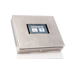 """AISI316 Marine Grade Stainless Steel Tablet Enclosure For 7"""" tablets with Lock"""