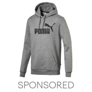 PUMA Essentials Men's Fleece Hoodie Men Sweat Basics