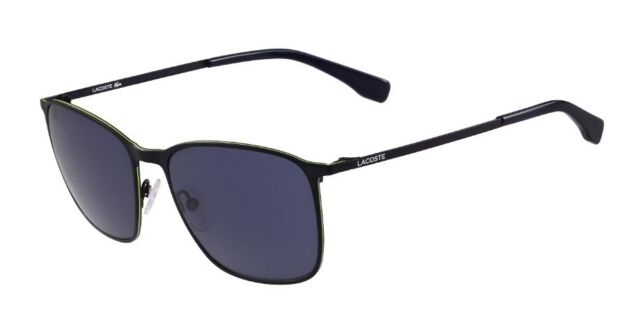 9f5f22d16394 Lacoste Men s L178s Square Sunglasses Satin Blue 57 Mm for sale ...