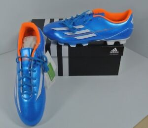 new product 58fc9 14472 Image is loading New-Mens-Adidas-F5-TRX-FG-Black-Blue-