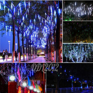 Meteor-Shower-Falling-Rain-Drop-Snow-Icicle-Xmas-Tree-Party-String-Lights-Decor
