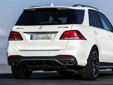 GLE63 AMG Rear Diffuser and Tailpipes Mercedes W166 C292 GLE AMG Line SUV