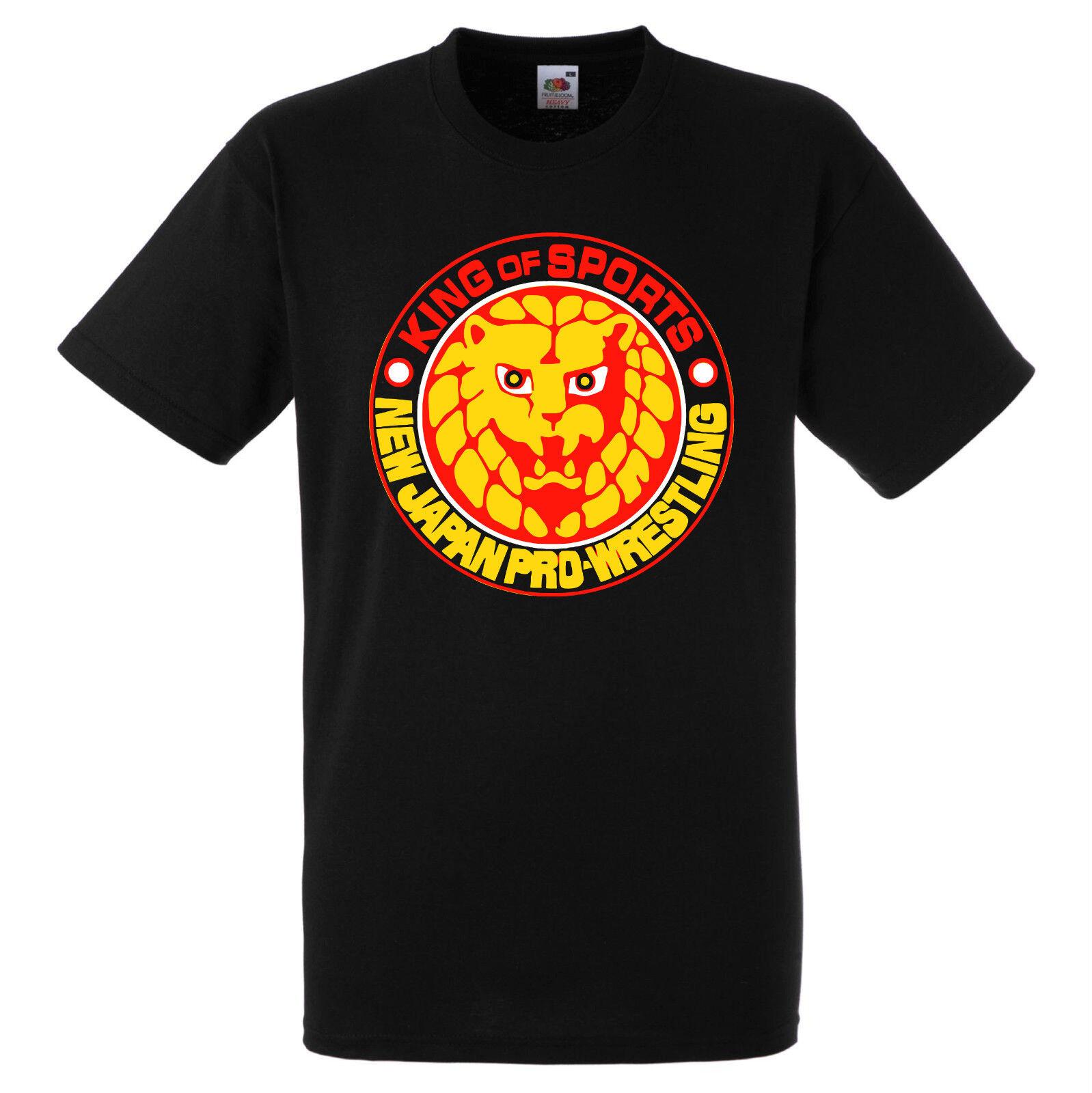 NJPW NEW JAPAN PRO WRESTLING logo Bullet Club AJ Styles t-shirt mens S to 3XL