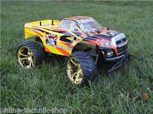 rc monster truck 1 10 mit gro en r dern rtr buggy ebay. Black Bedroom Furniture Sets. Home Design Ideas