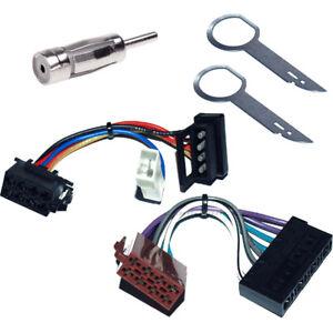 ISO Adapter Set Opel Vivaro Combo Blende metallic Caliber RMD021 Autoradio