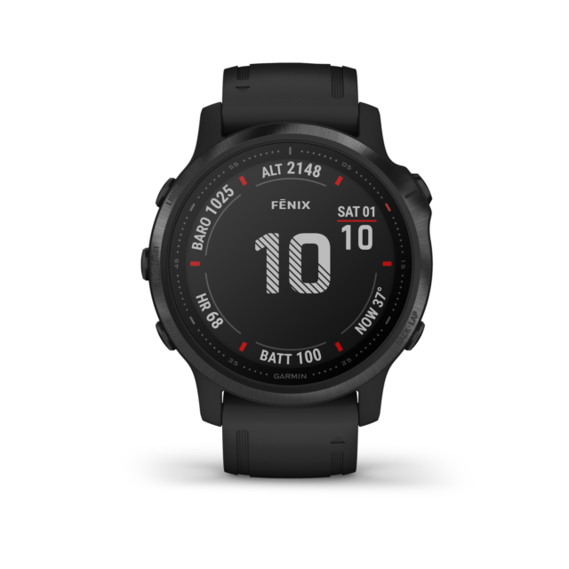 GARMIN Fenix 6S Premium Pro Black WLAN GPS Multisport Uhr 42 mm 010-02159-14